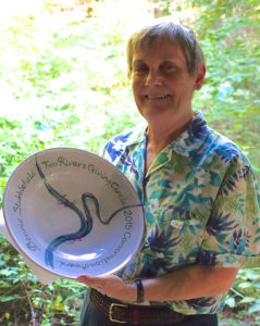 Longtime Berkeley County resident Bonnie Stubblefield was recognized by the Two Rivers Giving Circle for her dedicated conservation work in West Virginia. Bonnie wears many hats and currently serves as Vice President of the Land Trust of the Eastern Panhandle.