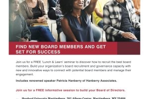First United Bank & Trust Partners with EWVCF and United Way to present Lunch & Learn Seminar for Nonprofits