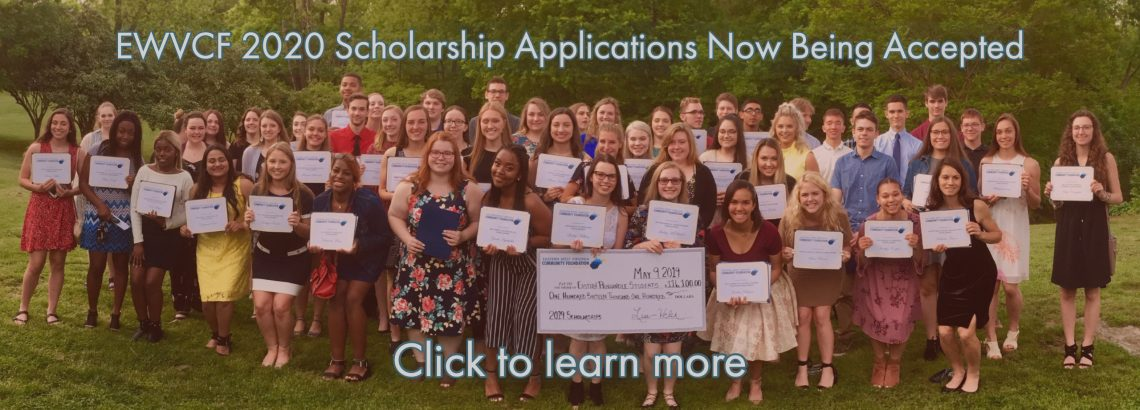 Apply Now for EWVCF Scholarships